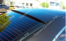 "Накладка на стекло (широкий козырек) ""MV"" для Mazda 6 GH"