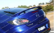 """Спойлер (высокий) """"MV Sport"""" для Mazda 6 GH"""