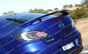"""Спойлер (высокий) """"MV Sport"""" для Mazda 6 GH (лифтбек)"""