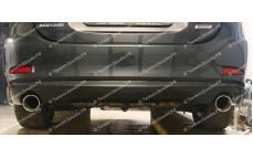 """Накладка на задний бампер (диффузор) """"ARS"""" тюнинг для Mazda 6 GJ (Мазда 6)"""