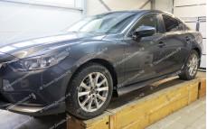 """Пороги """"ARS"""" для Mazda 6 GJ"""