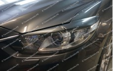 "Накладки на фары (реснички) ""ARS"" для Mazda 6 GJ"