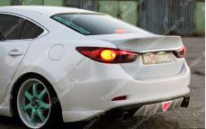 """Крышка багажника стеклопластиковая (вариант 1) """"SkyActivSport"""" тюнинг для Mazda 6 GJ (Мазда 6)"""