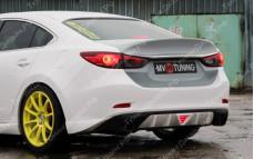 """Крышка багажника стеклопластиковая (вариант 2) """"SkyActivSport"""" для Mazda 6 GJ"""