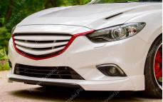 """Решетка радиатора (маска с оригинальным основанием) """"MV Sport"""" для Mazda 6 GJ"""