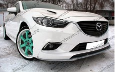 "Накладка переднего бампера (сплиттер) ""SkyActivSport"" для Mazda 6 GJ"
