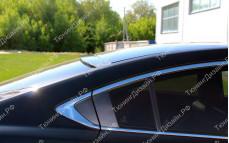 "Накладка на стекло (козырек) ""MV"" для Mazda 6 GJ"