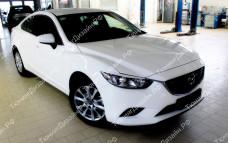 "Накладки на фары (реснички) ""MV"" для Mazda 6 GJ"