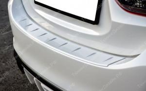 """Защитная накладка на задний бампер """"MV"""" для Mazda 6 GJ"""