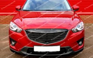 """Решетка радиатора (маска) """"ARS"""" для Mazda CX-5"""