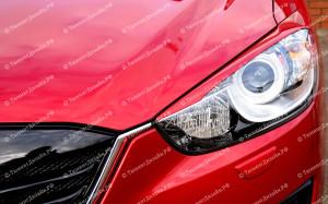 "Накладки на фары (реснички) ""ARS"" для Mazda CX-5"