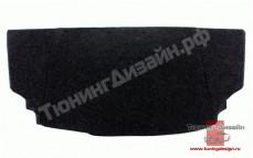 Полка для Лады Приора хэтчбек (ВАЗ 2172) [с боковинами]