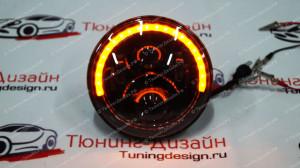 """Передние светодиодные LED фары """"DDL-005"""" тюнинг для Нивы ВАЗ 2121-2131"""