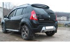 "Накладка на задний бампер ""Kart RS (Карт RS)"" тюнинг для Renault Sandero (Рено Сандеро)"