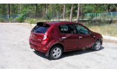 "Спойлер (дефлектор) ""Kart RS-2 (Карт RS-2)"" для Renault Sandero [2009-2014]"