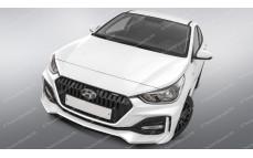 """Тюнинг комплект (обвес) """"Quant"""" Hyundai Solaris [2017-н.в.]"""