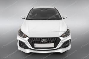 "Бампер передний ""Quant"" Hyundai Solaris [2017-н.в.]"