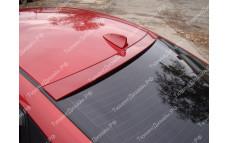 "Накладка на стекло (козырек) ""MV"" тюнинг для Hyundai Solaris (Хендай Солярис)"