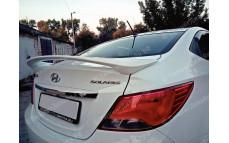 """Спойлер """"MV"""" для Hyundai Solaris седан [2010-2016]"""