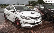 """Тюнинг обвес """"ZEUS Sport"""" для Hyundai Solaris седан [2014-2016]"""