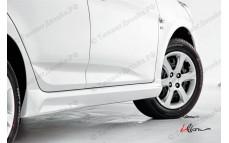 "Пороги ""YT iFlow"" для Hyundai Solaris [2010-2016]"