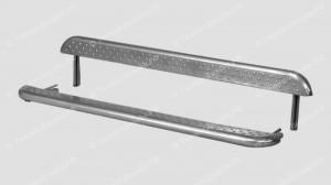 Пороги для Нивы Урбан и ВАЗ 21214 (металлический лист)