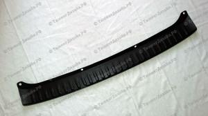 Защитная накладка на задний бампер для Лады Гранта лифтбек (ВАЗ 2191)
