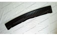 Защитная накладка на задний бампер для Лады Калина-2 хэтчбек (ВАЗ 2192)