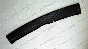 Защитная накладка на задний бампер для Лады Калина хэтчбек (ВАЗ 1119)