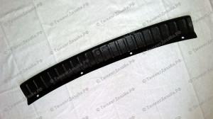 Защитная накладка на задний бампер для Лады Калина седан (ВАЗ 1118)