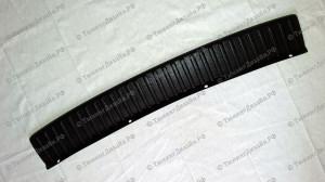Защитная накладка на задний бампер для Лады Калина универсал (ВАЗ 1117)