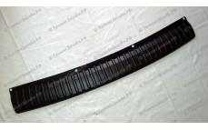 Защитная накладка на задний бампер для Лады Приора хэтчбек (ВАЗ 2172)
