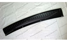 Защитная накладка на задний бампер для Лады Приора рестайлинг (ВАЗ 2172)