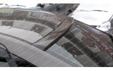 """Накладка на стекло (козырек) """"VTS"""" для Lada Vesta"""