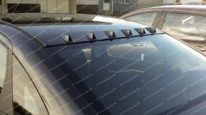 """Накладка на крышу (6 зубьев) """"EVO"""" для Lada Vesta"""