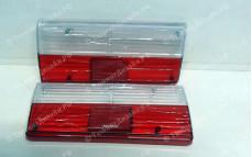 """Стекла задних фонарей """"BP"""" (белые/красные) для ВАЗ 2105-2107 Классика"""