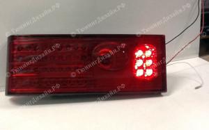 """Задние фонари """"BP"""" (диодные, красные) для ВАЗ 2108, 2109, 2099 и 2113, 2114"""