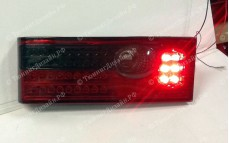 """Задние фонари """"BP"""" (диодные, красные/серые) для ВАЗ 2108, 2109, 2099 и 2113, 2114"""