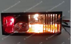 """Задние фонари """"BP"""" (серые) для ВАЗ 2108, 2109, 2099 и 2113, 2114"""