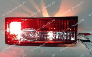 """Задние фонари """"BP"""" (красные) для ВАЗ 2108, 2109, 2099 и 2113, 2114"""