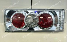"""Задние фонари """"BP"""" (диодные поворотники, хром) для ВАЗ 2108, 2109, 2099 и 2113, 2114"""