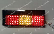 """Задние фонари """"BP"""" (диодные, тонированные) для ВАЗ 2108, 2109, 2099 и 2113, 2114"""