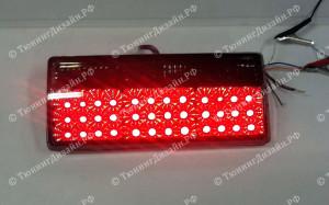 """Задние фонари """"BP"""" (диодные, тонированные) для ВАЗ 2105-2107 Классика"""