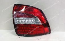 """Задние фонари """"BP"""" (диодные, красные/белые) для Лады Гранта седан (ВАЗ 2190)"""