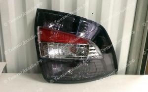 """Задние фонари """"BP"""" (под завод, серые/белые) для Лады Гранта седан (ВАЗ 2190)"""