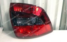 """Задние фонари """"BP"""" (под завод, красные/серые) для Лады Гранта седан (ВАЗ 2190)"""