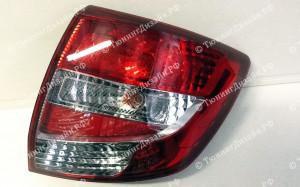 """Задние фонари """"BP"""" (под завод, красные/белые) для Лады Гранта седан (ВАЗ 2190)"""