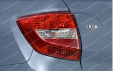 """Задние фонари """"Тюн-Авто"""" (под завод, без лампочек) для Лады Гранта седан (ВАЗ 2190)"""