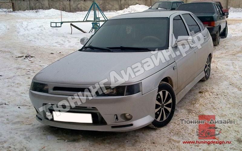Фото №36 - передний бампер на ВАЗ 2110 тюнинг